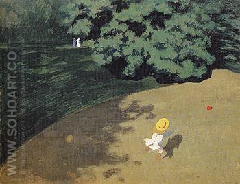 The Ball 1899 - Felix Vallotton reproduction oil painting