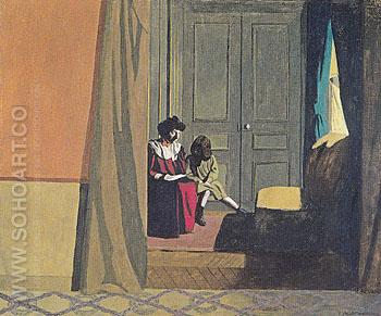 The Lesson 1900 - Felix Vallotton reproduction oil painting