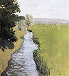Landscape at Arques la Bataille 1903 - Felix Vallotton reproduction oil painting