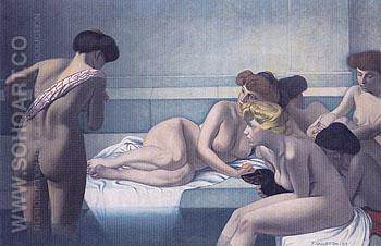 The Turkish Bath 1907 - Felix Vallotton reproduction oil painting