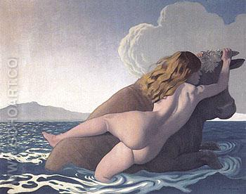 The Rape of Europa 1908 - Felix Vallotton reproduction oil painting