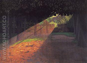 The Ray 1909 - Felix Vallotton reproduction oil painting
