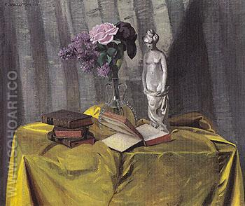 Vase and Statuette 1911 - Felix Vallotton reproduction oil painting