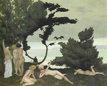 Summer 1912 - Felix Vallotton reproduction oil painting