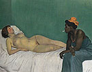 The White Woman and the Black 1913 - Felix Vallotton reproduction oil painting