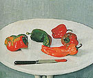 Red Peppers 1915 - Felix Vallotton