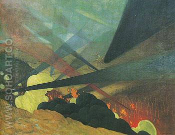 Verdun 1917 - Felix Vallotton reproduction oil painting