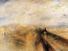 Rain Steam and Speed The Great Western Railway 1844 - Joseph Mallord William Turner reproduction oil painting