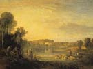 Popes Villas at Twickenham during its Dilapidation 1808 - Joseph Mallord William Turner reproduction oil painting