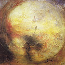 Light and Colour the Morning after the Deluge Moses Writing the Book of Genesis 1843 - Joseph Mallord William Turner reproduction oil painting
