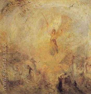 The Angel Standing in the Sun 1846 - Joseph Mallord William Turner reproduction oil painting