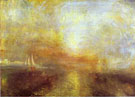 Yacht Approaching the Coast c1835 - Joseph Mallord William Turner reproduction oil painting