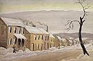 Houses 1920 - Charles Burchfield