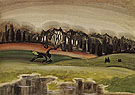 The Mysterious Woods 1919 - Charles Burchfield