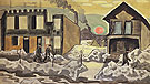 Red Sun 1920 - Charles Burchfield