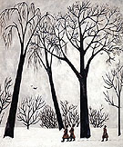Winter 1911 - Natalia Gontcharova