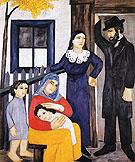 Jewish Family 1912 - Natalia Gontcharova