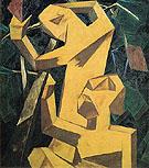 Peasants Picking Grapes c1913 - Natalia Gontcharova
