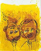 Portrait with Subtenant 1997 - George Baselitz