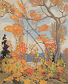 Autumn Algonquin Park c1915 - Tom Thomson