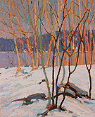 The Birch Grove Algonquin Park c1916 - Tom Thomson