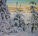 Snow II c1916 - Lawren Harris