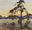 The Jack Pine c1916 - Tom Thomson reproduction oil painting