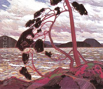 The West Wind 1917 - Tom Thomson reproduction oil painting