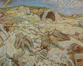 The Sunken Road 1919 - Frederick Varley reproduction oil painting