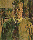 Self Portrait 1919 - Frederick Varley