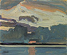 Lake Simcoe c1919 - J.E.H. MacDonald reproduction oil painting