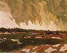 March Storm Georgian Bay 1920 - A.Y. Jackson reproduction oil painting
