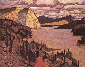 The Solemn Land 1921 - J.E.H. MacDonald reproduction oil painting