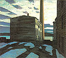 Elevator Court Halifax 1921 - Lawren Harris