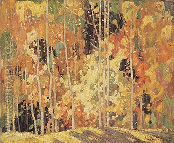 The Glade 1922 - Franklin Carmichael reproduction oil painting