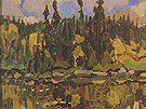 Isles of Spruce c1922 66 - Arthur Lismer reproduction oil painting