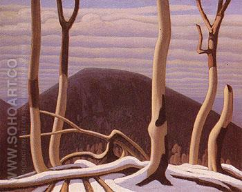 Above Lake Superior c1922 - Lawren Harris reproduction oil painting