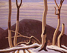 Above Lake Superior c1922 - Lawren Harris