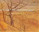 Pembina Valley 1923 - L.L. Fitzgerald reproduction oil painting