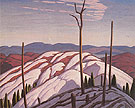 First Snow North Shore of Lake Superior 1923 - Lawren Harris