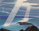 Lake Superior Sketch II c1924 - Lawren Harris reproduction oil painting