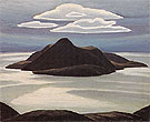 Pic Island Lake Superior c1924 - Lawren Harris reproduction oil painting