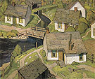 Mill Houses 1928 - A.J. Casson