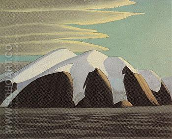 North Shore Baffin Island 1930 - Lawren Harris reproduction oil painting