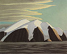 North Shore Baffin Island 1930 - Lawren Harris