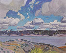 Georgian Bay 1931 - J.E.H. MacDonald reproduction oil painting