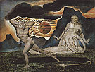 The Body of Abel Found by Adam and Eve c1826 - William Blake reproduction oil painting