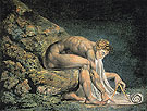 Newton c1795 - William Blake reproduction oil painting
