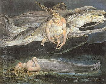 Pity c1795 - William Blake reproduction oil painting