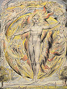 The Sun at His Eastern Gate c1816 - William Blake reproduction oil painting